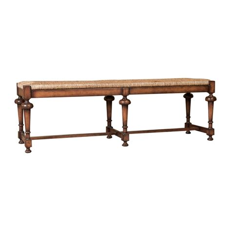 french country bench rush seat lolo french antiques french country rush seat bench lolo
