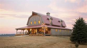 gambrel barn barn wood home great plains gambrel barn home project