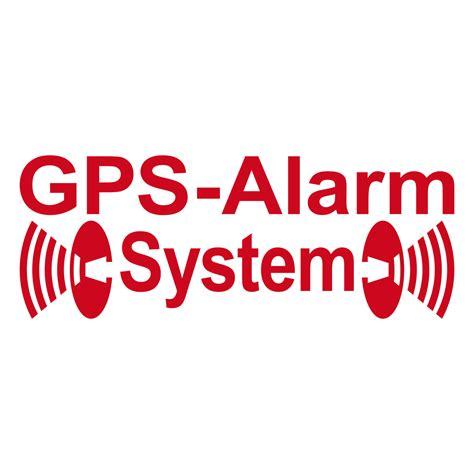 Aufkleber Scheibe Innen Entfernen by 2 Aufkleber Rot Gps Alarm System Gespiegelt Invers F 252 R