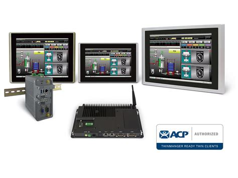 rugged thin client ais unveils new acp thinmanager ready rugged industrial thin client pcs and touch screen