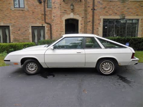 plymouth hatchback 1982 plymouth tc3 miser hatchback 2 door 1 7l