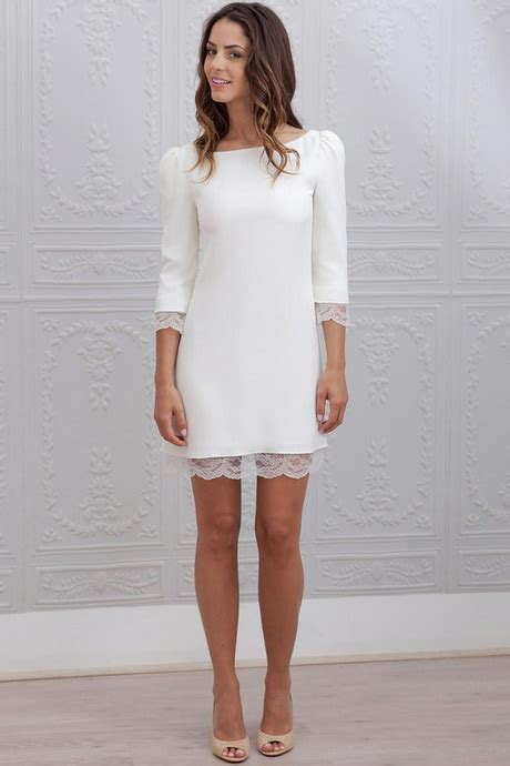 Robe Blanche Simple Pour Mariage - robe blanche pour mariage civil