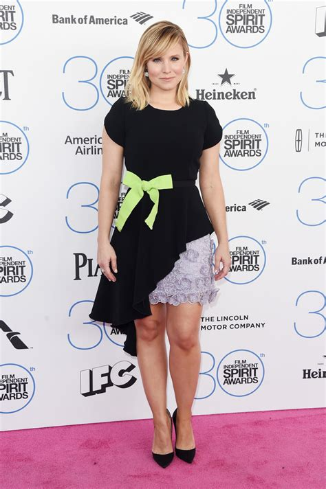 Get Look Kristen Bells Behnaz Sarafpour Dress 2 by Kristen Bell Cocktail Dress Kristen Bell Looks Stylebistro