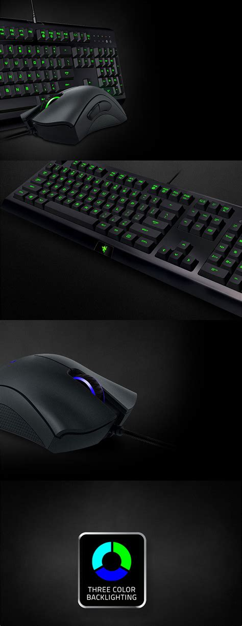 Razer Cynosa Pro Bundle Razer Deathadder Keyboard Mouse Gaming razer cynosa pro bundle