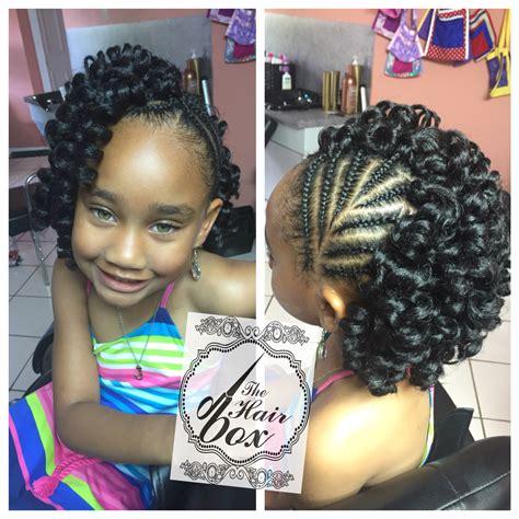 kids crochet hair styles crochet braids for little girls braids pinterest