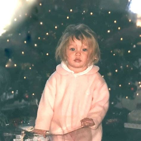 this baby photo of gigi hadid proves she was born to be a gigi hadid shares incredibly cute throwback picture on
