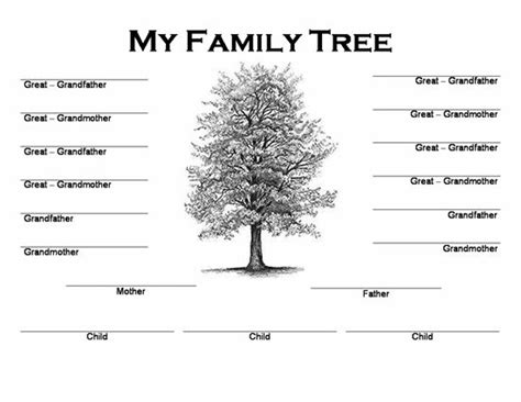 printable family trees with siblings 40 best family trees images on pinterest family tree