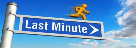 last minute ab wann last minute reisen