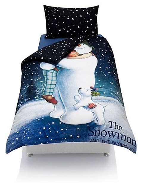 Snowman Comforter by The Snowman Snowdog Bedding Set With Staynew M S