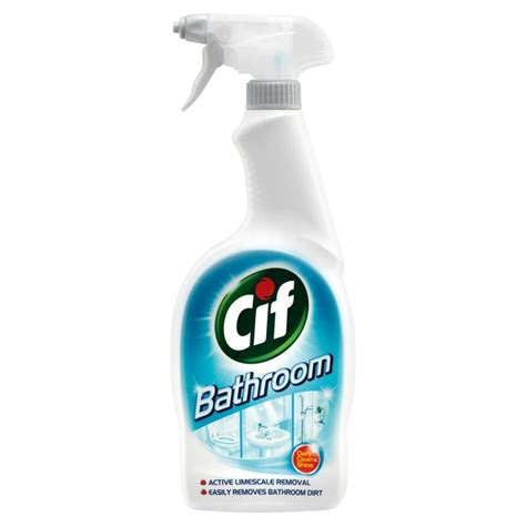 bath shower spray cif bathroom spray 700ml from ocado