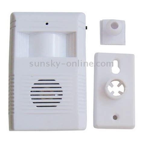 Bel Pintu Sensor Gerak Electronic Guest Saluting V Zorr 1 sunsky electronic motion sensor guest saluting doorbell