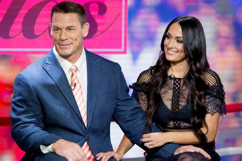 nikki bella and john when will nikki bella marry john cena video the daily dish