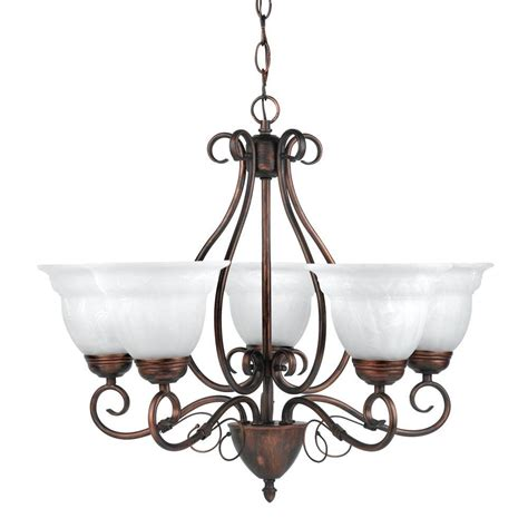 Bronze Globe Chandelier Globe Electric Beatrice 5 Light Weathered Bronze Chandelier With Alabaster Glass Shades 65573
