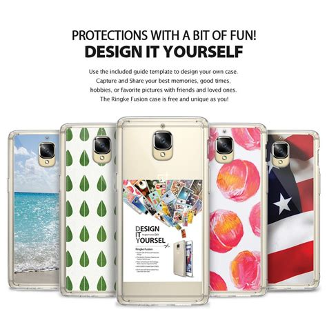 Hardcase Back Cover Rearth Ringke Fusion Oneplus One Casing One Plus 1 rearth ringke fusion for oneplus 3 three oneplus3
