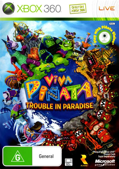 Cover Viva viva pi 241 ata trouble in paradise for xbox 360 2008