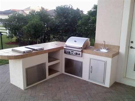 outdoor bbq island designs