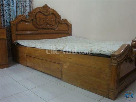 deshi futon chittagong teak shegun khat size clickbd