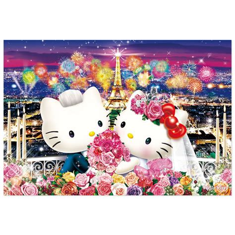Outdoor Entertainment Area - hello kitty jigsaw puzzle 1000 pieces wedding in paris sanrio japan japan in a box