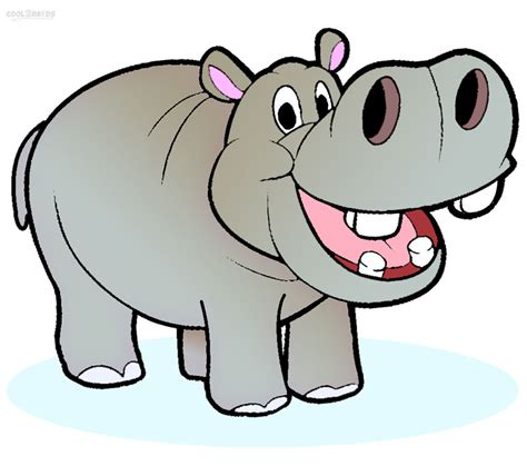 free images clipart hippo clipart