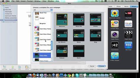 iweb templates free where to free iweb themes