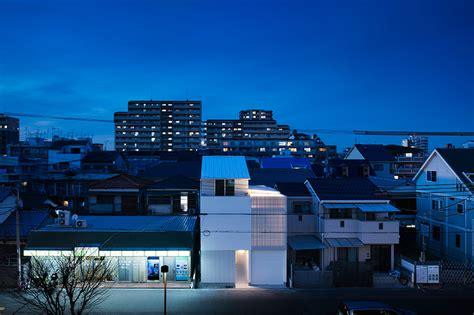 Designboom Osaka | light grain house in osaka by yoshiaki yamashita