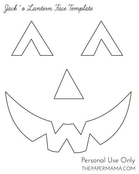 printable pumpkin eyes and mouth yarn jack o lantern face bhg style spotters