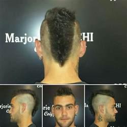 coupe de cheveux iroquoise