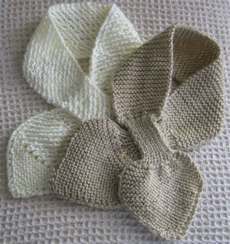 knitting pattern bow tie scarf bow knot scarves gift bag