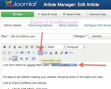 joomla article tutorial joomla 3 0 tutorial how to link an article to joomla menu