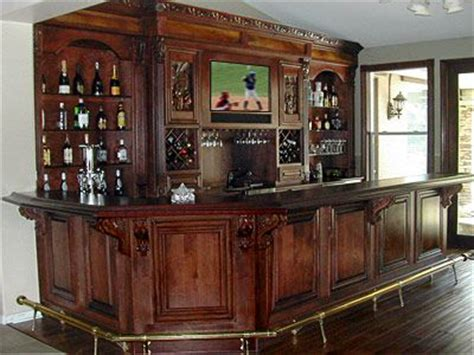 home bar cabinet designs home wooden bars grape corbels below overhang solid