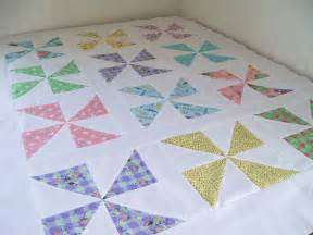 sew lovely pinwheel quilt top
