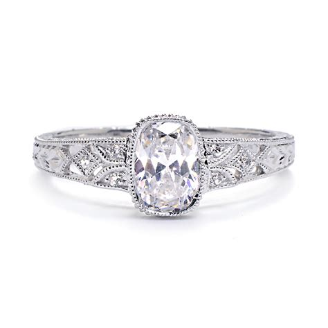 vintage oval engagement rings ipunya
