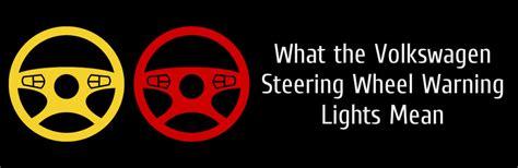 vw jetta dash lights volkswagen s steering wheel warning light explained