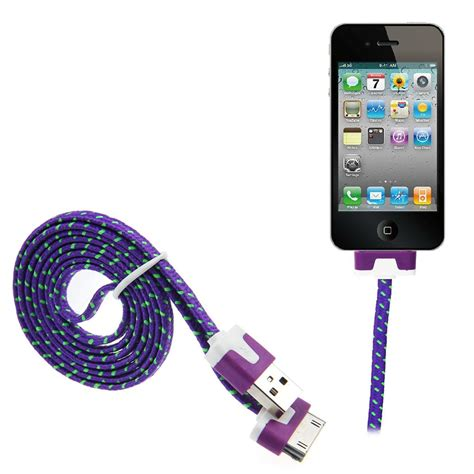 3m strong braided usb data sync charger cable for iphone 5 6 4 4s 3gs ipod ebay