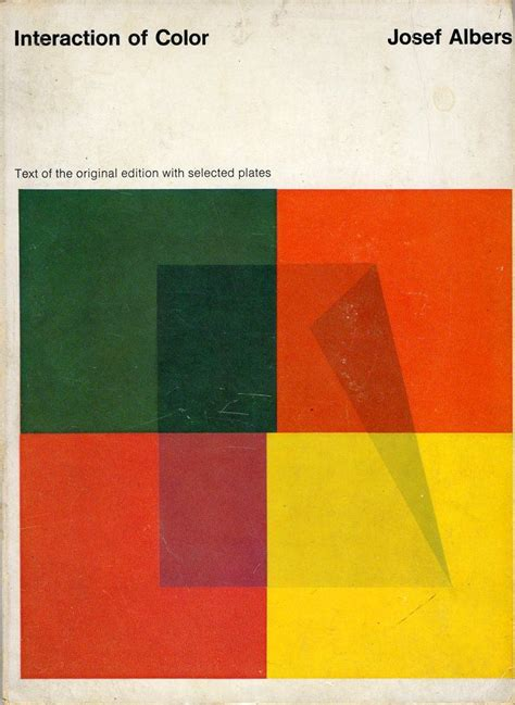 josef albers interaction of color interaction of color joseph albers literary wish list