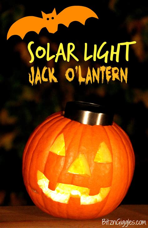 pumpkin light solar light o lantern