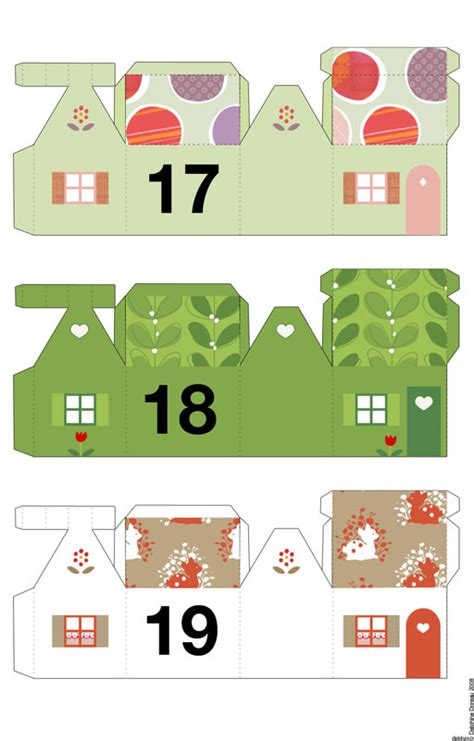 printable advent calendar house babalisme too late for advent calendar not this one
