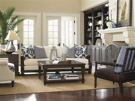 bahama living room bahama home quot island traditions quot berkshire sofa and sheffield table take a seat