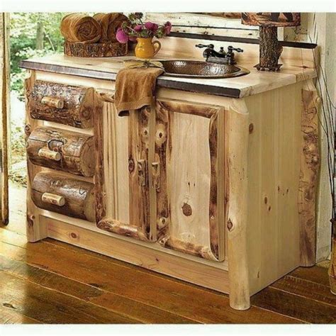 rustic bathroom sink cabinets 33 stunning rustic bathroom vanity ideas remodeling expense