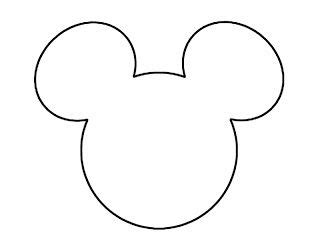 Mickey Mouse Silhouette Template by Mouse Ears Mickey Mouse And Ears On