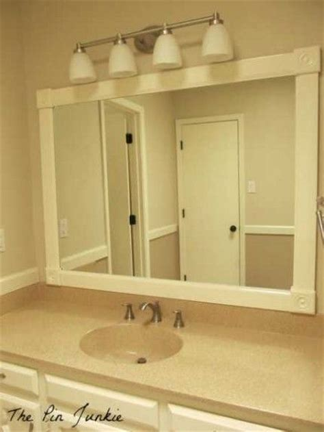 bathroom mirror makeovers bathroom mirrors mirror makeover and mirror on pinterest