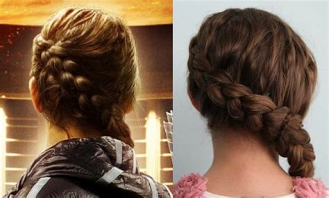 cute girl hairstyles katniss braid authentic katniss braid hunger games special guest