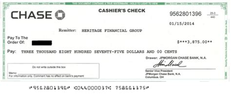 jp cashiers check image gallery cashier s cheques