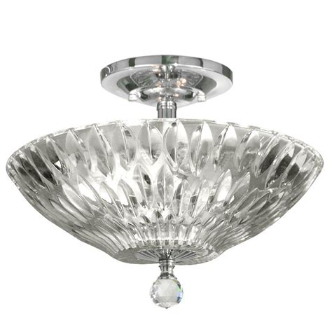 dale tiffany ceiling fan dale tiffany lightwater 3 light polished chrome semi flush
