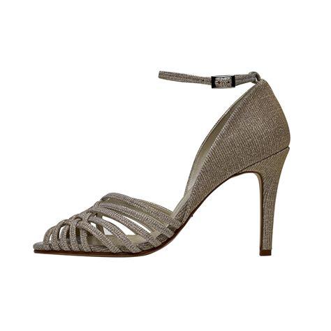Metallic Sandal rainbow club constance gold metallic lattice sandal shoe