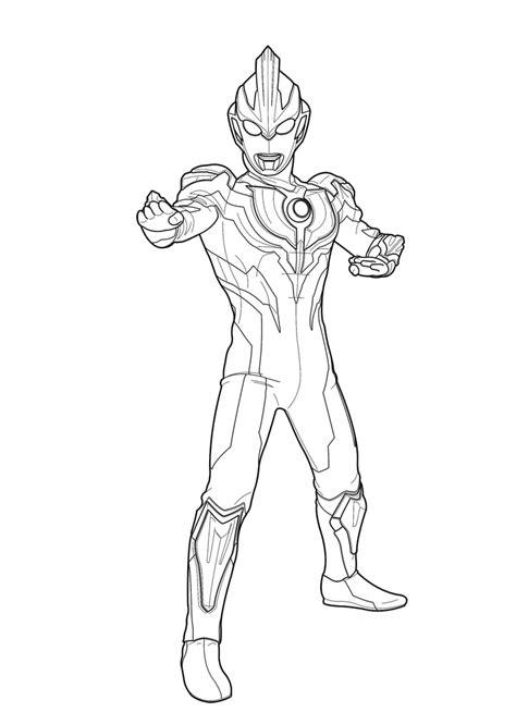 Ultraman Mewarnai Gambar • BELAJARMEWARNAI.info