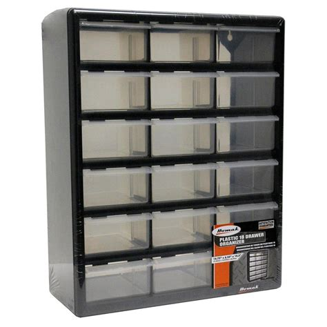 organizers for home homak 18 compartment storage small parts organizer in