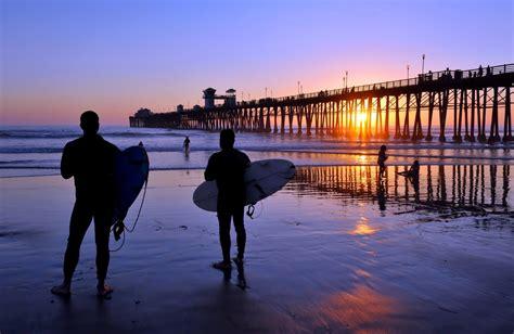 piers usa oceanside pier view south oceanside ca