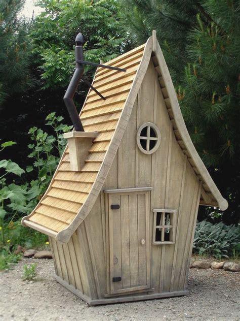ideas  maisonnette en bois enfant