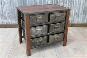 metal drawer unit industrial chest of drawers